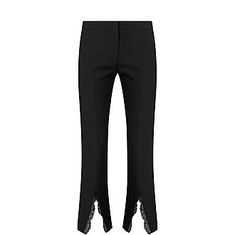 Lace Insert Trousers