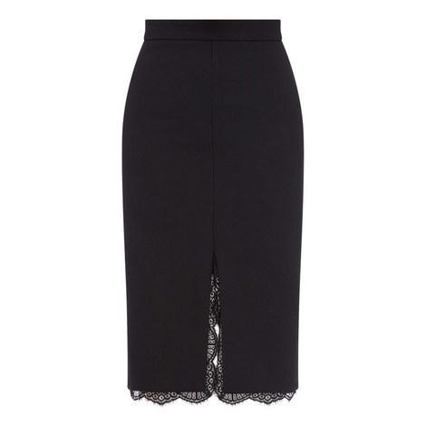 Lace Midi Lace Skirt, ${color}