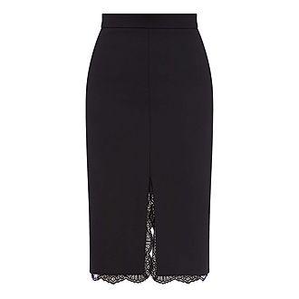 Lace Midi Lace Skirt