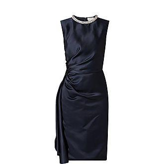 Crystal Neck Dress