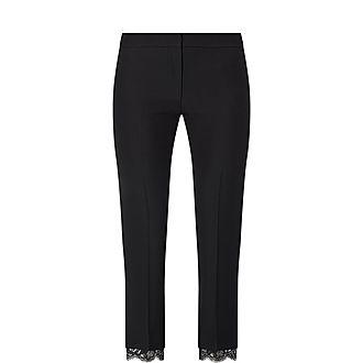 Lace Trim Trousers
