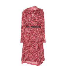 Mini Paisley Print Dress