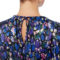 Pulled Print Dress, ${color}
