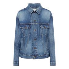 Monogram Vintage Denim Jacket