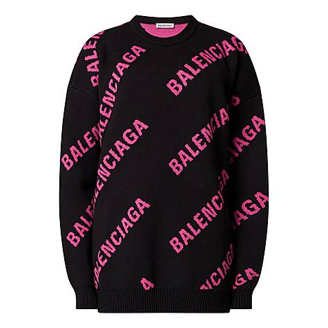 Logo Knitted Sweater, ${color}