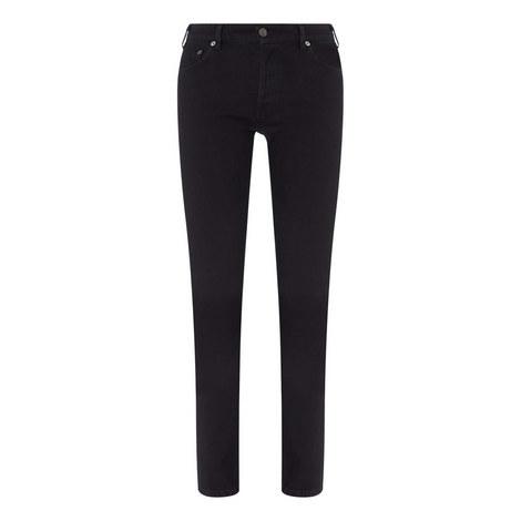 V Waist Skinny Jeans, ${color}
