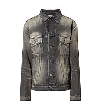 Faded Denim Jacket