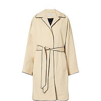 Wrap Cocoon Jacket
