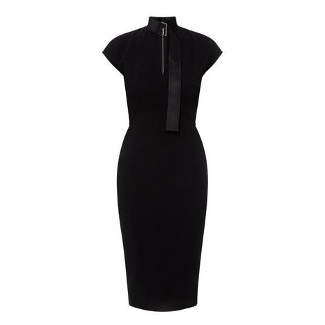 Slash Front Dress, ${color}