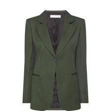 Tailored Single-Breated Blazer