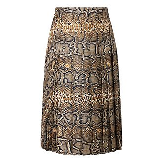 Python Pleat Skirt