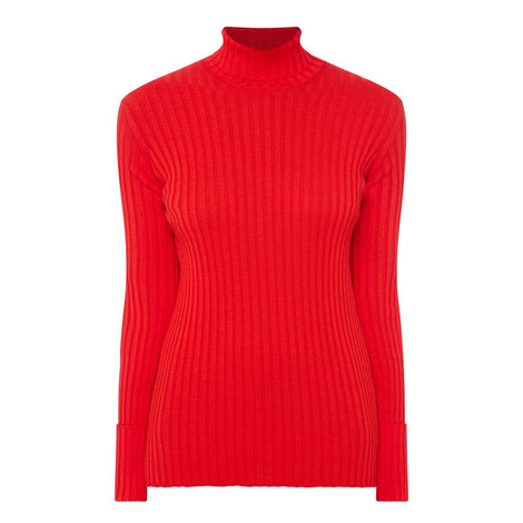Roll Neck Sweater, ${color}