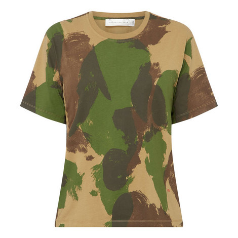 Camouflage Printed T-Shirt, ${color}