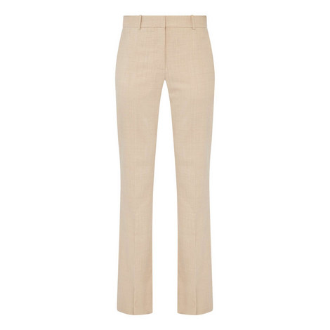 High Waist Flared Trousers, ${color}