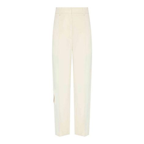 Wide Leg Cut-Out Trousers, ${color}