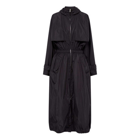 Waist Cinched Coat, ${color}