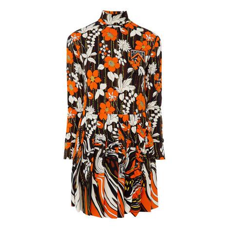 Floral Jersey Dress, ${color}