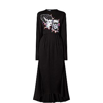 Frankenstein Bride Stamp Dress
