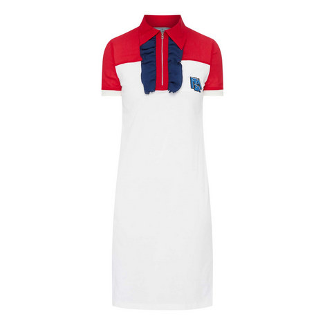 Logo Polo Dress, ${color}