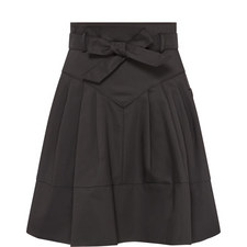 Mini Tie Waist Skirt