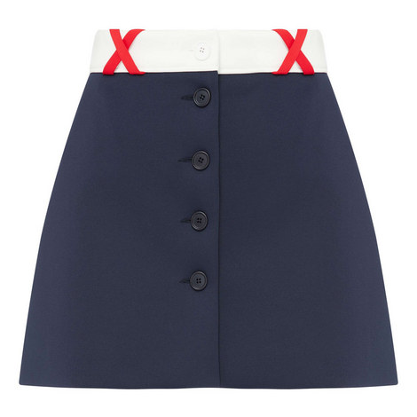 Mini Buttoned Skirt, ${color}