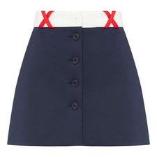 Mini Buttoned Skirt