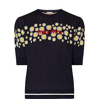 Daisy Intarsia Sweater