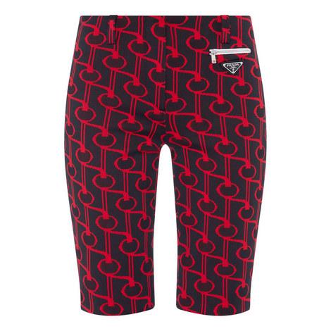 Key Jacquard Shorts, ${color}