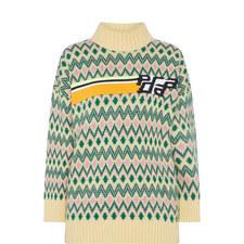 Logo Chevron Sweater