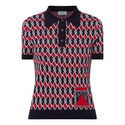 Geometric Print Knit Top, ${color}