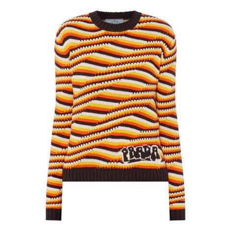 Wave Stripe Sweater, ${color}