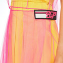 Tulle Satin Dress, ${color}