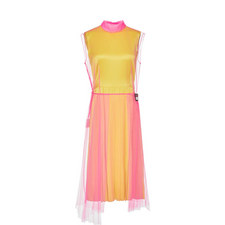 Tulle Satin Dress