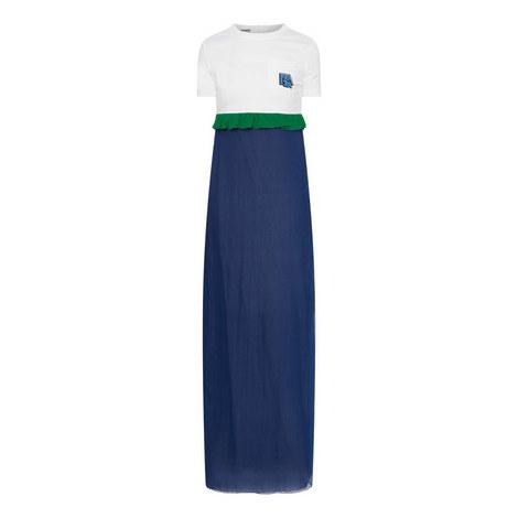 Frill T-Shirt Dress, ${color}