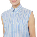 Sleeveless Striped Shirt, ${color}