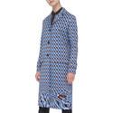 Geometric Print Coat, ${color}