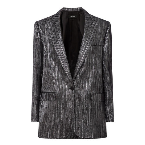 Datja Metallic Blazer, ${color}