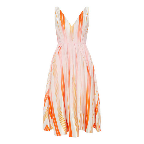 Ravena Stripe Bow Dress, ${color}