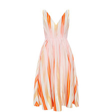 Ravena Stripe Bow Dress