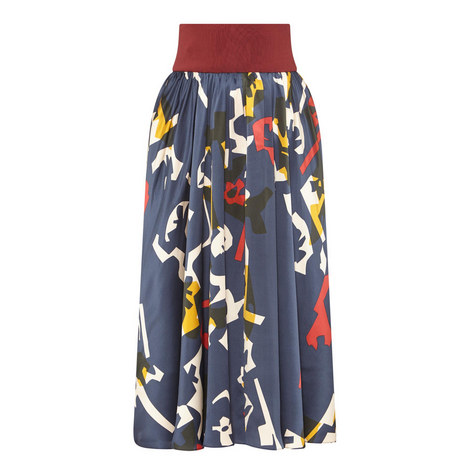 Jeira Printed Skirt , ${color}