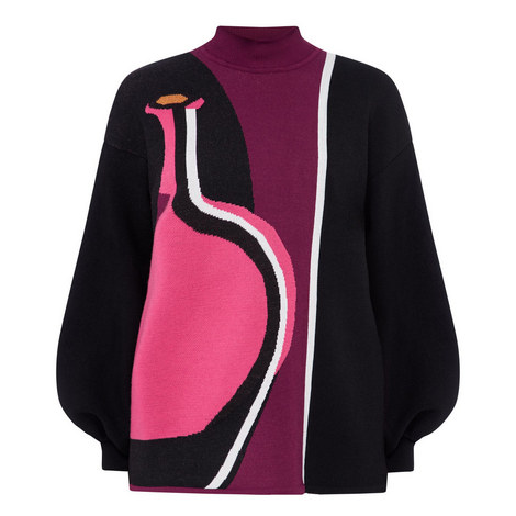 Mylo Jacquard Sweater, ${color}