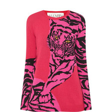 Tiger Printed Sweater