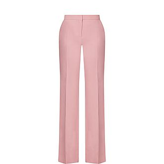 Front Pleat Trousers