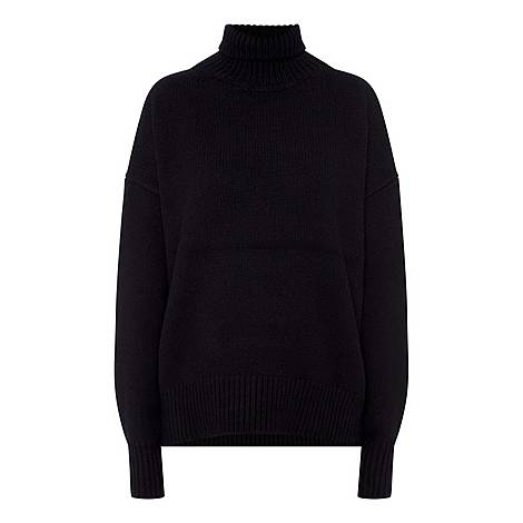 Pheliana Cashmere Turtleneck Sweater, ${color}