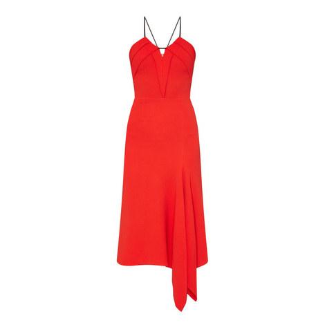 Fazeley Asymmetrical Rope Detail Dress, ${color}