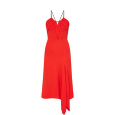 Fazeley Asymmetrical Rope Detail Dress