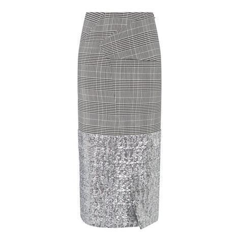 Abrams Check Pencil Skirt, ${color}