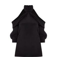 Slash Shoulder Blouse
