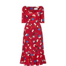 Glenys Hideko Print Dress