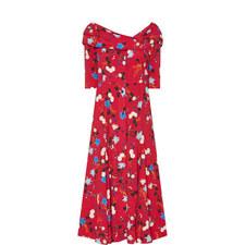 Fluted Iman Dress